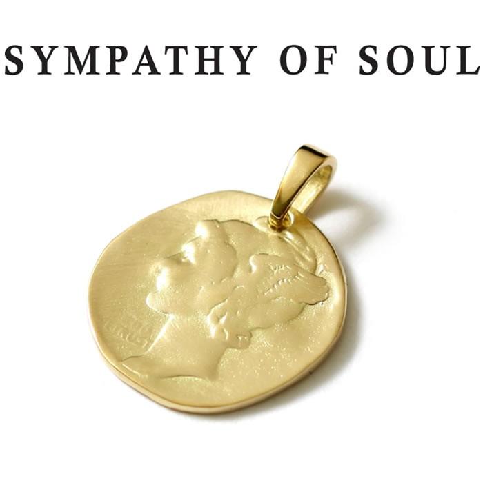シンパシーオブソウル ゴールド K18 リバティヘッドペンダントトップSYMPATHY OF SOUL Liberty Head Pendant K18YG【正規商品 公式通販】
