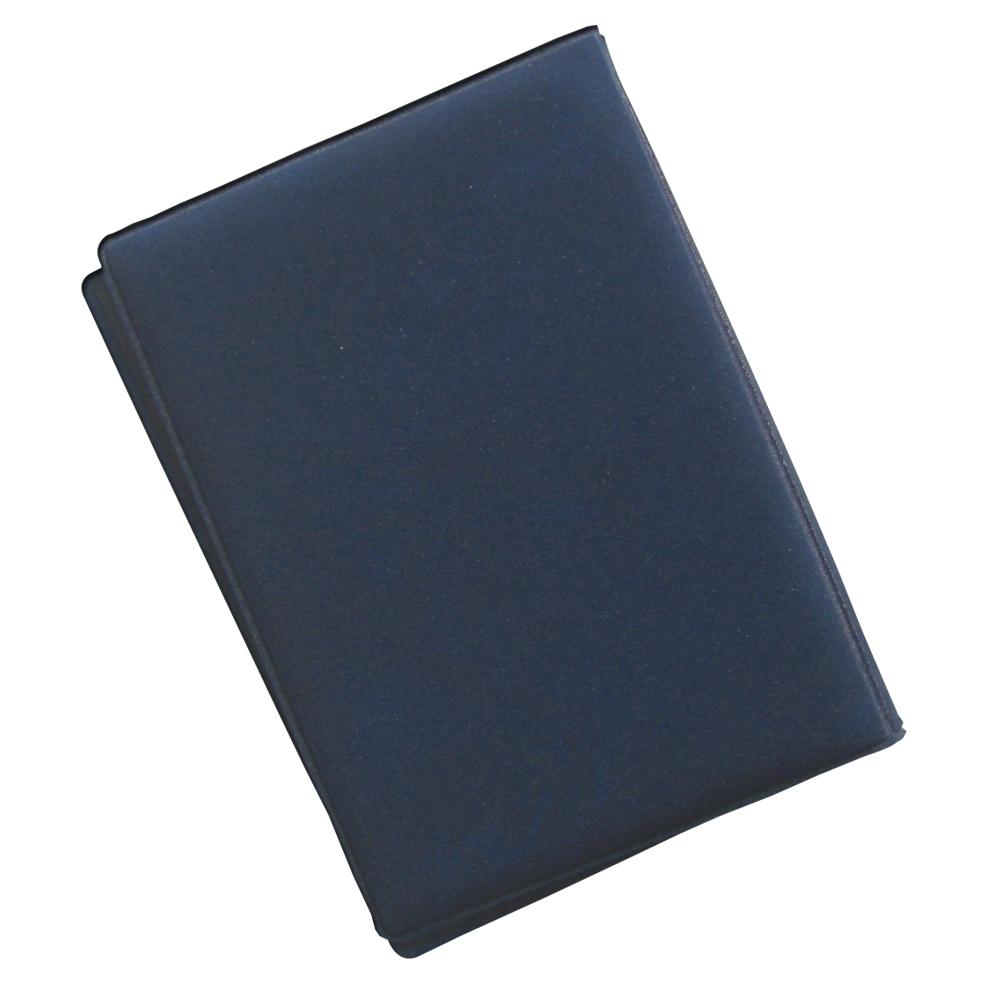 スマホケースの蓋やバッグの留め金マグネットの磁気、携帯電話やテレビや電子レンジ等の電磁波からキャッシュカードやクレジットカード等の磁気データを守ります。 【日本製】8枚収納DX防磁カードケース(ネイビーブルー)読みとりエラー.磁気とび防止.磁気データ保護タイプ