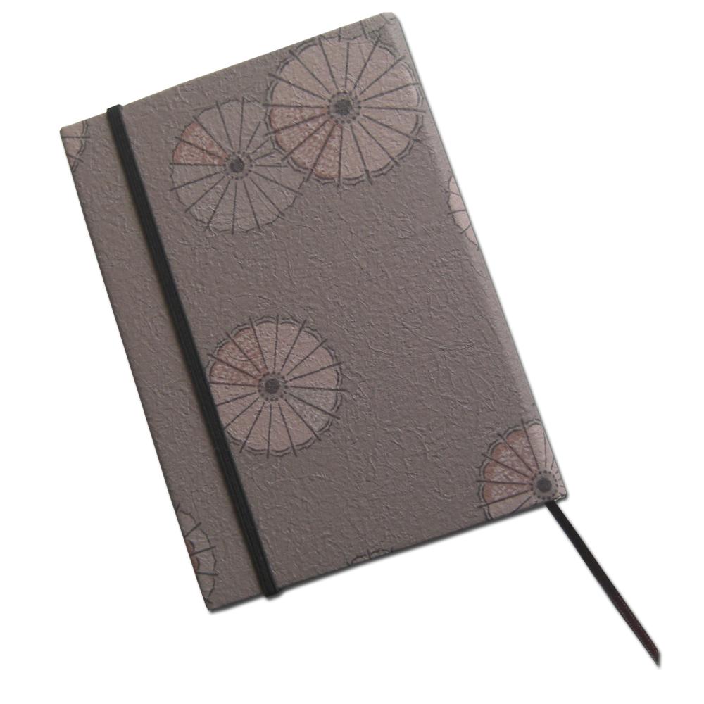 本を大切にするあなたにピッタリの新書用のお洒落なハードカバーです 好評 数量限定アウトレット最安価格 新書用ハードブックカバー.和風モダン.番傘柄ダークブラウン