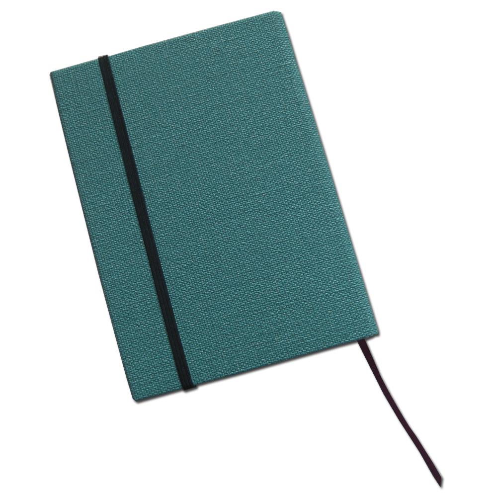 返品不可 本を大切にするあなたにピッタリの文庫本用の繊細な織物調のお洒落なハードカバーです 文庫本ハードブックカバー デニムブルー 2020 新作 ブルー ブックフェイス