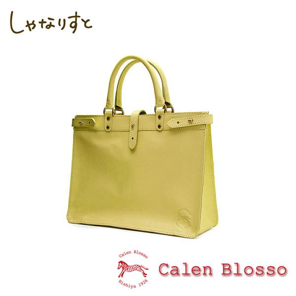 【Calen Blosso】菱屋 カレンブロッソ 本革バッグシリーズ ハンドバッグ ムサシーニ No.672 [萌葱] 日本製