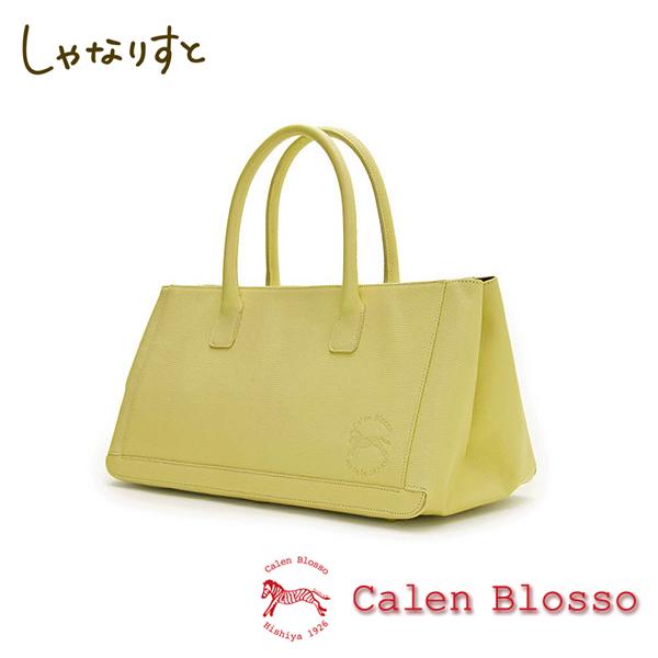 【Calen Blosso】菱屋 カレンブロッソ 本革バッグシリーズ ハンドバッグ ポストーニ No.672 [萌葱] 日本製