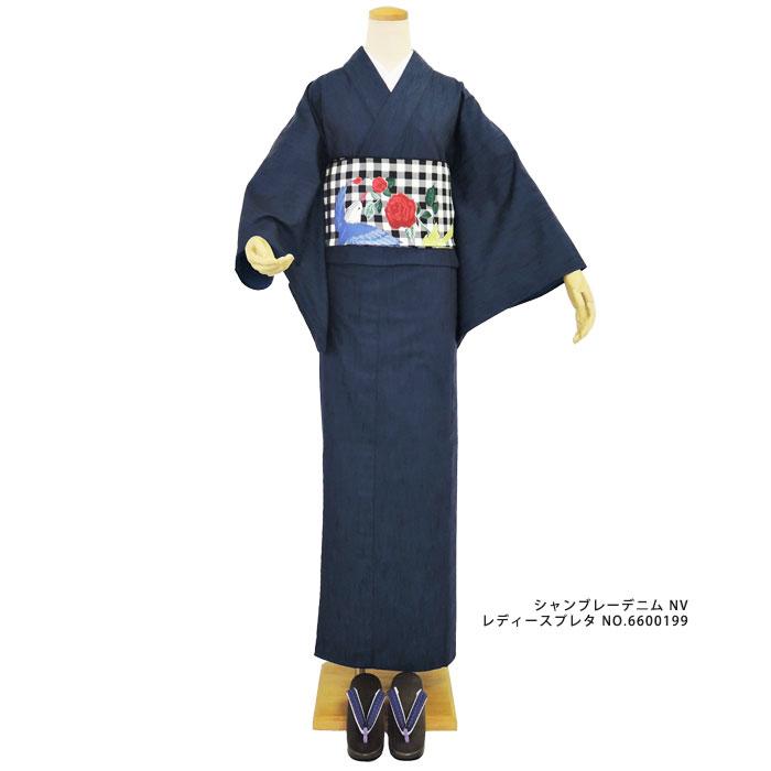 【iks(イクス)】シャンブレーデニムレディースGR・YE ・NV