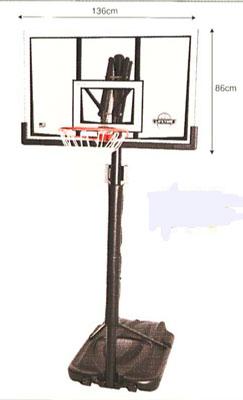 【\300\500\1000クーポン付与!11/16-11/22】【バスケットゴール 屋外】LIFETIME バスケットゴール LTー90061