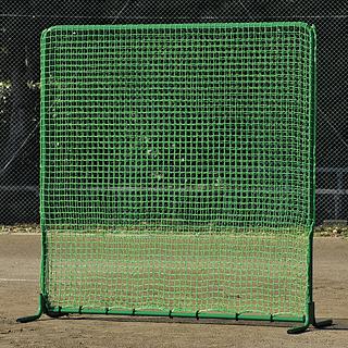 【受注生産品】トーエイライト 防球フェンスダブルネット2x2 B-3736  [分類:野球 防球フェンス]