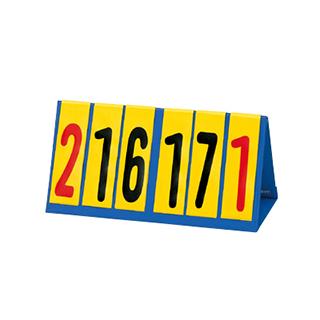 【受注生産品】トーエイライト 卓球 ハンディー得点板 B-6305