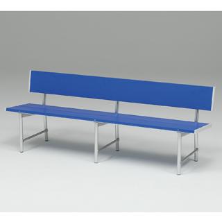 【受注生産品】【グランドベンチ】トーエイライト スポーツベンチアルミSH18B B-6184