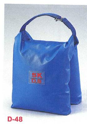 【砂袋】ダンノ 砂袋DX5kg(5個1組)(砂入り) D-48