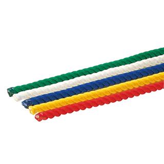 【受注生産品】トーエイライト 5色綱引ロープ36ー10M B-2189