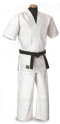 【空手着】マーシャルワールド・純国産 最高級純白フルコンタクト空手着(帯無し) KU5 1号
