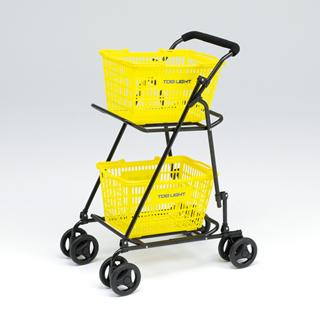 【受注生産品】トーエイライト  折りたたみボールカート(カゴ付) B-6272
