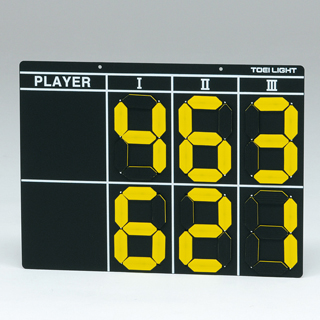 【受注生産品】【テニススコアボード】トーエイライト テニススコアボード B-3977