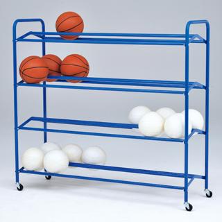 【受注生産品】【ボール整理棚】トーエイライト 低学年用両面式ボール整理棚4 B-4008