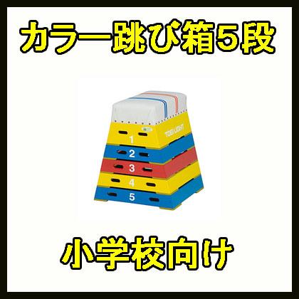【受注生産品】トーエイライト カラー跳箱5段 T-2572