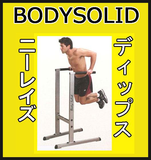 【動画参照】【ディップス スタンド】BODYSOLID(ボディソリッド)ディップスステーション GDIP59【検品後発送】