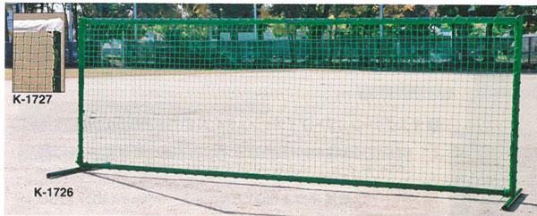 【\300\500\1000クーポン付与!11/16-11/22】【受注生産品】【テニスフェンス】カネヤ テニスフェンスDX3.0白帯付 K-1727