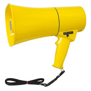 【拡声器 ハンドマイク】トーエイライト 拡声器TS633 B-2468