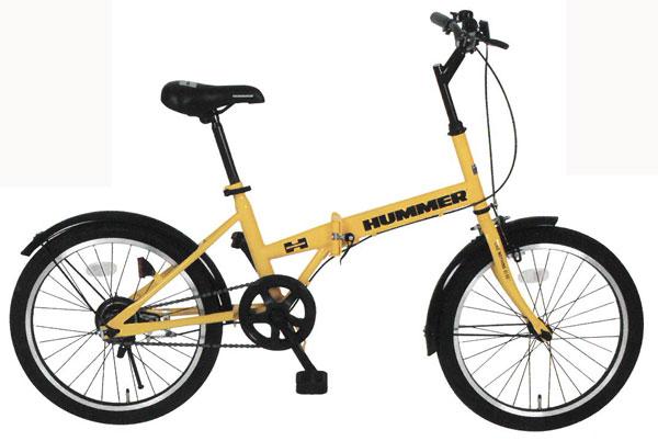 【ポイント5倍!3/21~3/25】【メーカー直送のため代引き不可】【折りたたみ自転車】HUMMER FDB20R 20インチ折畳自転車 MG-HM20R