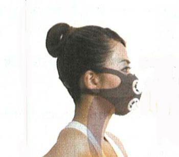 Clipper レブナマスク(トレーニングマスク)カラー:黒のみ