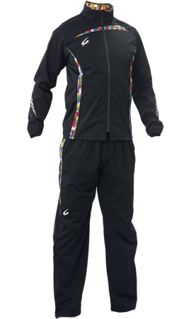 【減量着】クレーマージャパン サーキュレーションスーツ (カラー:ブラック、上下セット、ポケット付き、サイズ:SS~3L) E734E783|クレーマー ダイエット 減量 上下セット 発汗 男女兼用 トレーニングウエア ランニング シェイプアップ スリム ボクシング
