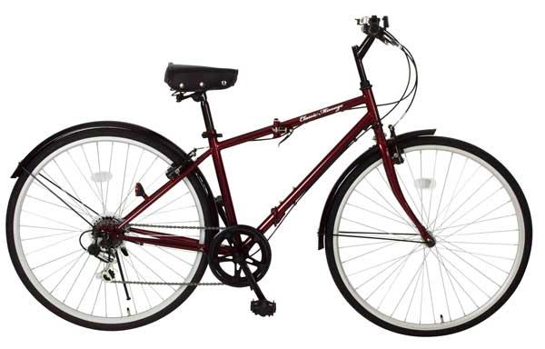 【メーカー直送のため代引き不可】【折りたたみ自転車】Classic Mimugo FDB700c 6S 折畳みクロスバイク MG-CM700C