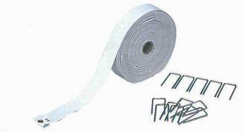 【ゲートボール】カネヤ (KANEYA)  ゲートボールラインテープ 78m(規制ライン)用 K-1696L