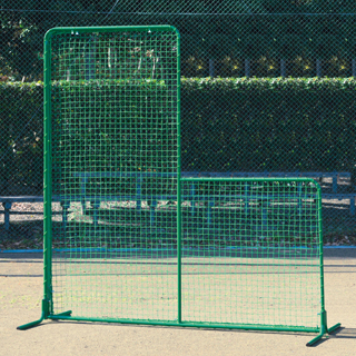 【受注生産品】【防球フェンス 野球】トーエイライト 防球フェンスL型ST B-2530