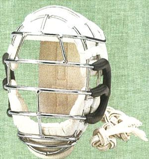 九櫻 拳法面(紐付き) 耳革付 面金8mm 一般男子用R208