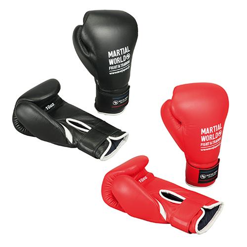 【ボクシング グローブ】マーシャルワールド プロ仕様スパークリンググローブ(14オンス) BG5(ブラック)