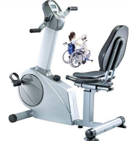 中旺ヘルス アッパーロアーバイク SEG-9770(リハビリ用マシン) |リハビリ ダイエット器具 家庭用 送料無料 室内 自転車こぎ 室内トレーニング 静音 有酸素運動 リカンベントバイク アップライトバイク フィットネスマシン 背もたれ付き エアロバイク 電源不要