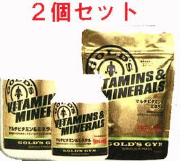 【ポイント5倍!期間7/19(日)20:00-7/26(日)1:59】GOLD'S GYM(ゴールドジム)マルチビタミン&ミネラル 360粒 (2個セット)