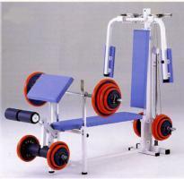 【受注生産品】【マルチステーション】 ダントス コンビネーションベンチ4 D-570 トレーニングベンチ トレーニングマシン トレーニング器具