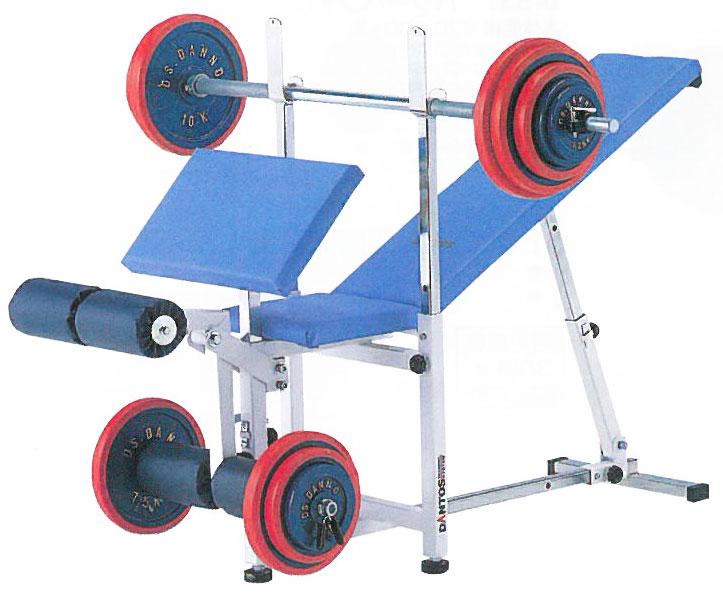 【受注生産品】ベンチプレス セット ダントス コンビネーションベンチ1 D-515 トレーニングベンチ トレーニングマシン トレーニング器具