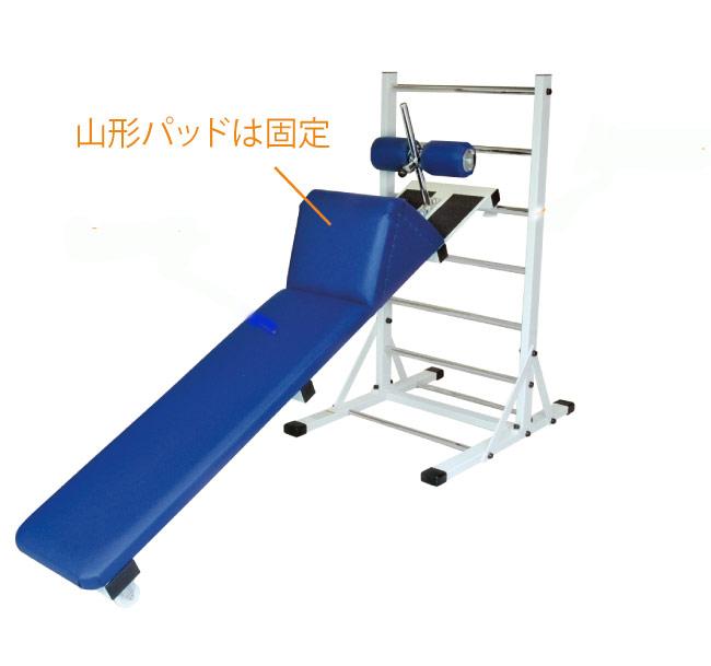 【受注生産品】中旺ヘルス アブドミナルボード用山型パッド(脱着式)(山型パッドのみの販売) AB-2502