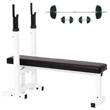 ベンチプレストレーニングセットE(バーベル&ダンベル70kgセット+ホームベンチ7)