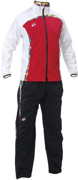 【減量着】クレーマージャパン サーキュレーションスーツ (カラー:レッド、上下セット、ポケット付き、サイズ:S~3L) E734E783|クレーマー ダイエット 減量 上下セット 発汗 男女兼用 トレーニングウエア ランニング シェイプアップ スリム ボクシング