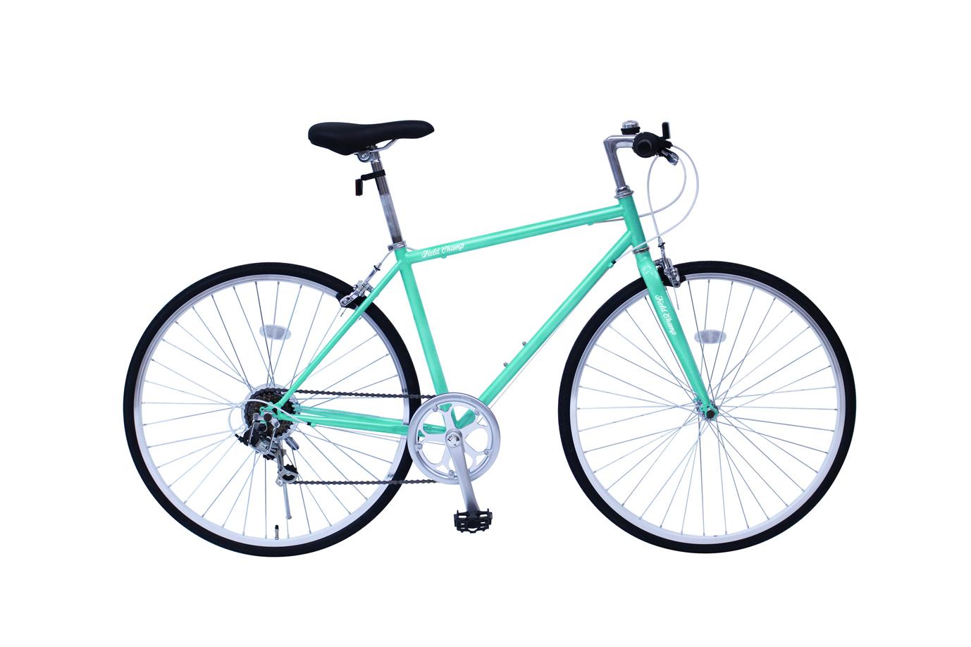【メーカー直送/代引不可】ミムゴ FIELD CHAMP フィールドチャンプ クロスバイク 700C 6SF MG-FCP700CF(カラー:グリーン)
