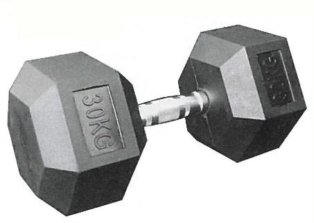 【在庫確認要す】【六角ダンベル】KANEYA 六角ダンベル 10kg(1本)