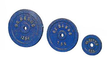 【バーベルプレート 20kg】【代金引換不可商品】ダンノ Φ28mmアイアンバーベルプレート 20kg(1枚) D-628|パワーリフティング ダンベル 筋トレ ウエイトトレーニング パワーラック ベンチプレス 大胸筋 バーベル プレート バーベルシャフト