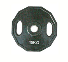 【ポイント5倍!3/21~3/25】【オリンピックプレート】KANEYA オリンピックバーベルプレート15kg(2枚組) KH-427