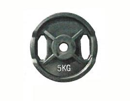 【Φ28mmバーベルプレート】KANEYA ラバープレート28Φ 5kg(2枚組) KH-410