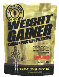 ゴールドジム ウエイトゲイナー3kg