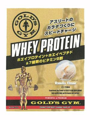 GOLD'S GYM(ゴールドジム) ホエイプロテイン 1,500g