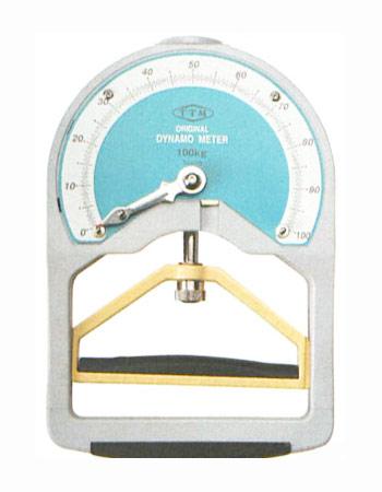 【握力計】ハタ 握力型100kg用(学校体育用品) No.101A