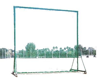 【受注生産品】【防球フェンス】カネヤ 3mx3m防球フェンスDX KB-3500C