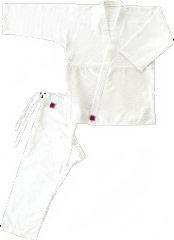 【受注生産品:納期約30日】クサクラ 逮捕術道衣(上衣・ズボンセット) 4号