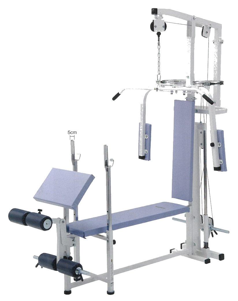 【受注生産品】【マルチステーション】 ダントス コンビネーションベンチ7 D-577 トレーニングベンチ トレーニングマシン トレーニング器具
