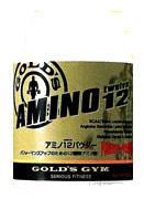 GOLD'S GYM アミノ12パウダー500g