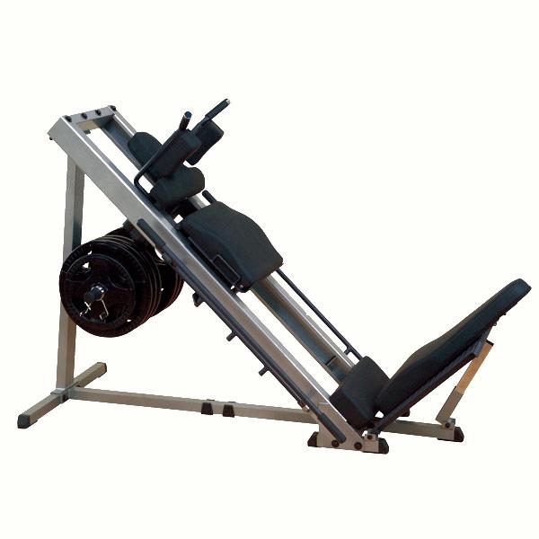 【レッグプレス】bodysolid(ボディソリッド)リニアベアリングレッグプレス&ハックスクワットマシン(Φ50mm仕様)GLPH-2100S(耐久荷重450kg)【検品後発送】|トレーニングマシン スクワット 器具 バーベル レッグプレス 太もも 筋トレ ウエイトトレーニング