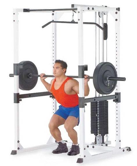 【予約販売】[パワーラック]【動画参照】bodysolid(ボディソリッド)プロパワーラック GPR-82+ラットマシンアタッチメント LA-80.3(ウエイト90kg付)【検品後発送】】】|筋力 背中 上腕筋 ベンチプレス 筋トレ パワーラック インクラインベンチ